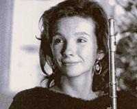 Clara Novakova, flûte, Prix International 1995