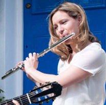 Lucy Driver flûte, Maria Camahort, guitare, Prix International 2013